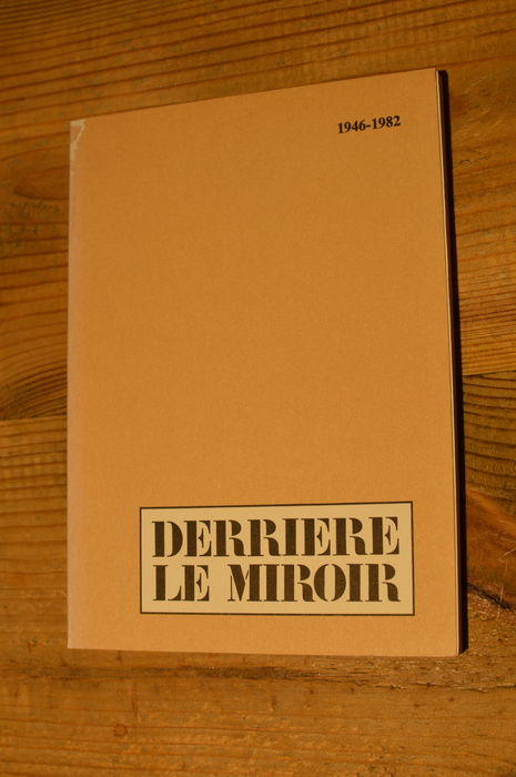 Naslagwerken adrien maeght derri re le miroir 1946 for Maeght derriere le miroir