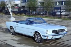 Ford - Mustang convertible I6 - 1966