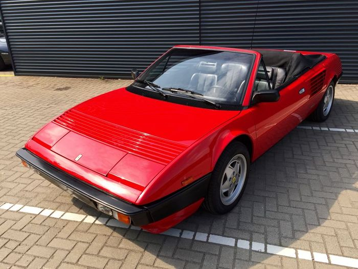 ferrari mondial convertible quattrovalvole 1985 catawiki. Black Bedroom Furniture Sets. Home Design Ideas
