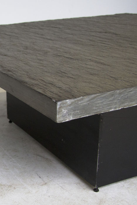 Master Brutalist Natural Stone Coffee Table Catawiki