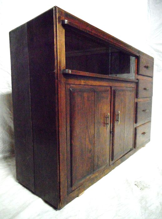 Industri u00eble apothekers dressoir kast   Catawiki