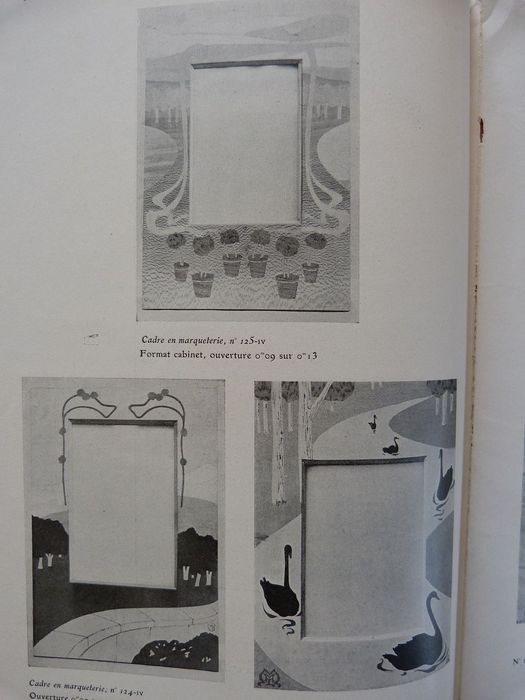 Orig 1901 catalogue by maison moderne paris documents art industriel xx siecle catawiki - Catalogue maison moderne ...