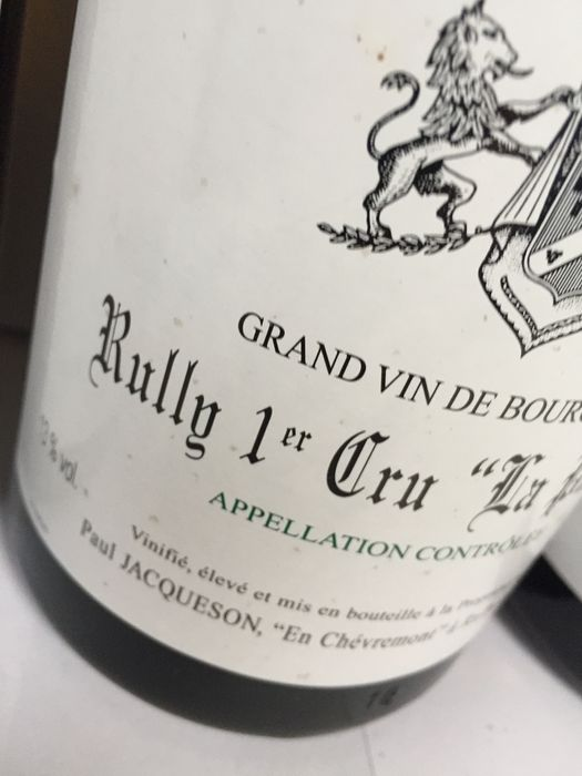 Rully la pucelle premier cru 2007 3 magnum catawiki - Passion cuisine rully ...
