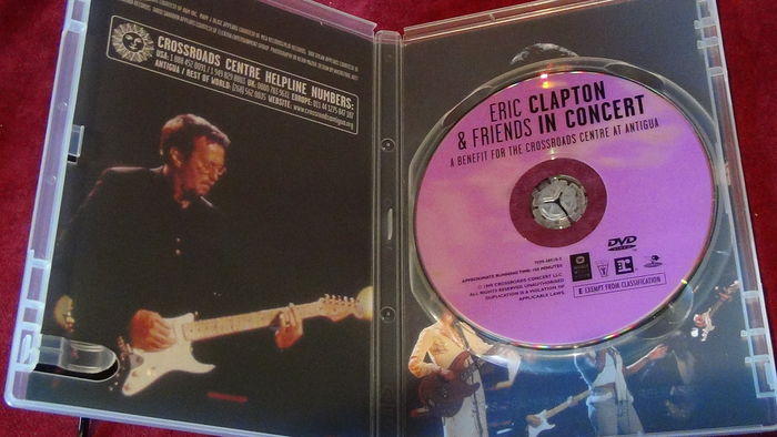 4 X Dvd Eric Clapton Amp Friends In Concert 1999 24
