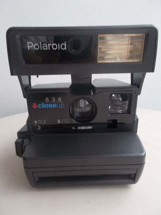 polaroid 636 close up instant camera catawiki. Black Bedroom Furniture Sets. Home Design Ideas