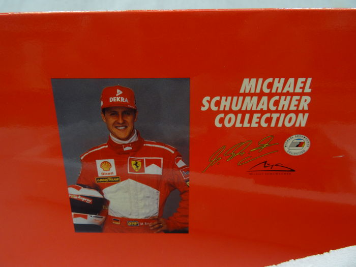 mini champs michael schumacher collection scale 1 18. Black Bedroom Furniture Sets. Home Design Ideas