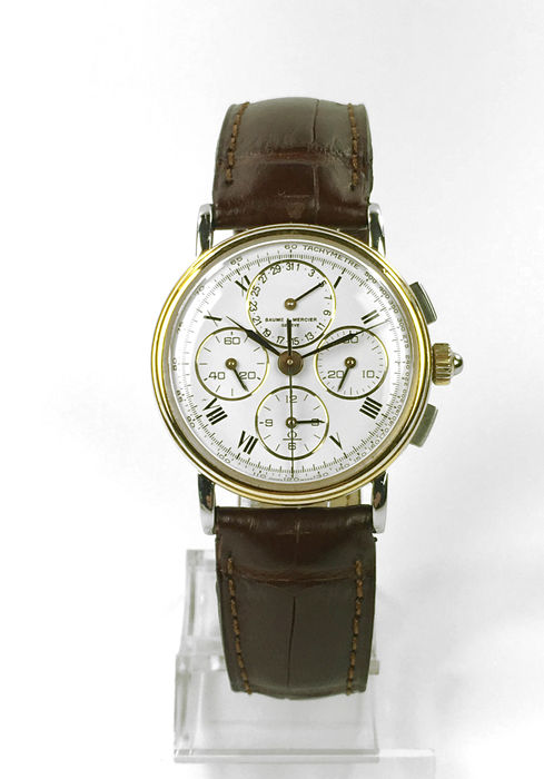 baume mercier chronographe 1988 catawiki