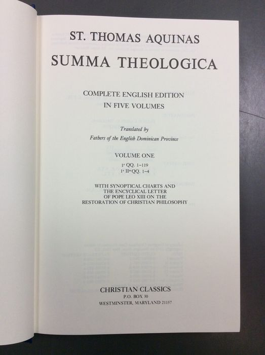 """review the summa theologica by thomas The theology of thomas aquinas:  philosophical passages of st thomas aquinas' summa theologica  in roman catholic theology,"""" harvard theological review."""