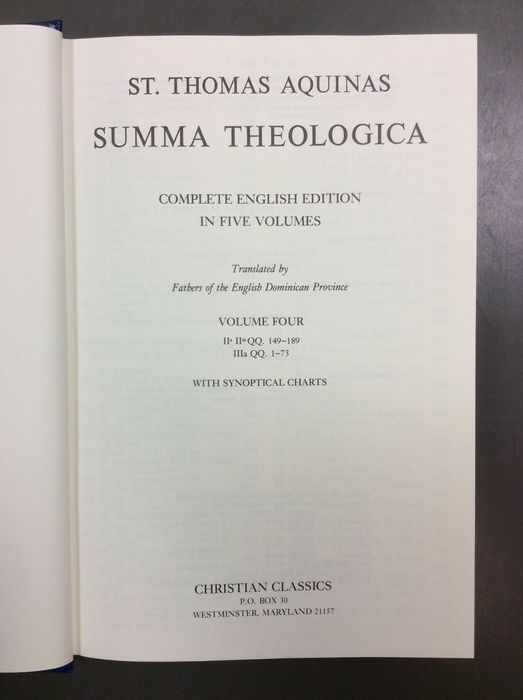 a reaction to the summa theologica by st thomas aquinas The summa and other matters dedicated to the legacy of st thomas aquinas this site is dedicated to the teaching of st thomas aquinas in particular, the site aims to offer online the commentaries on the summa written by pere reginald garrigou-lagrange, op.