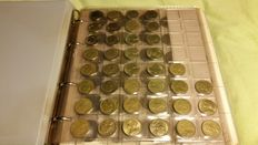 France and Germany - 471x coins in 2 albums 20th century (incl. silver)