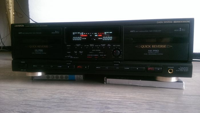 Aiwa ADWX909  Manual  Stereo Double Cassette Deck