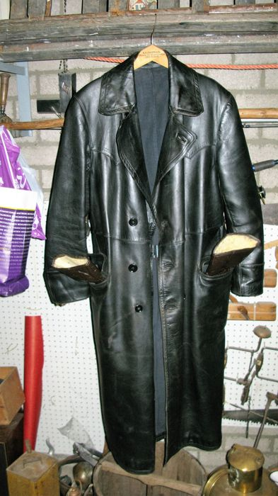 manteau en cuir moto cyclo gants en cuir marque indiana. Black Bedroom Furniture Sets. Home Design Ideas
