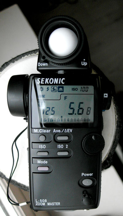 Sekonic L-508 Zoom Master Manual