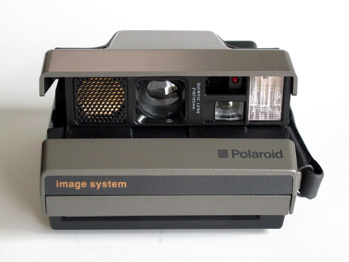 polaroid image system instant camera with quines lens f 10 125 catawiki. Black Bedroom Furniture Sets. Home Design Ideas