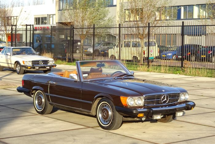 Mercedes benz 450sl convertible 1975 catawiki for 1975 mercedes benz 450sl convertible