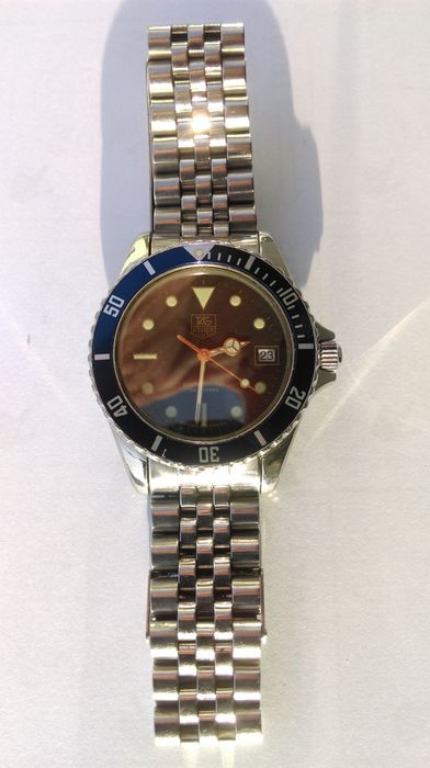Tag heuer 1000 professional 200 meter diving watch 1985 1992 catawiki - Heuer dive watch ...