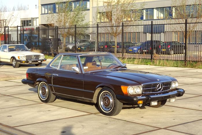 Mercedes benz 450sl roadster convertible 1975 catawiki for 1975 mercedes benz 450sl convertible