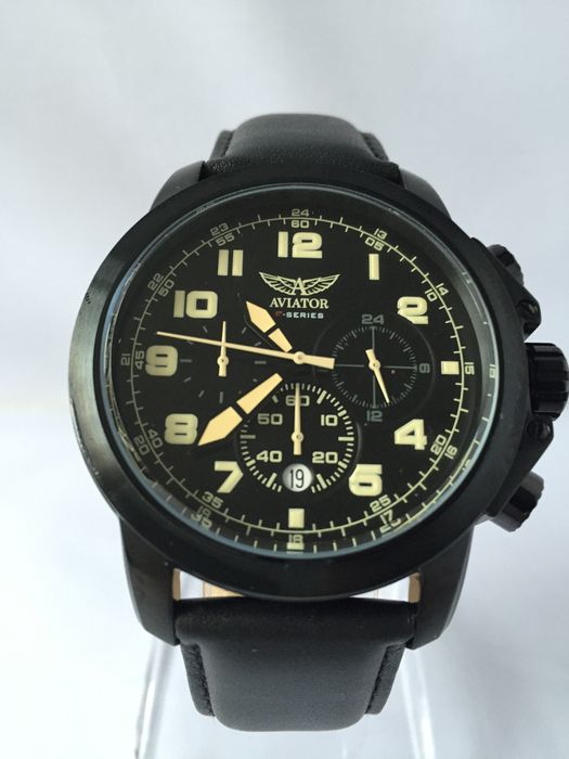 aviator f series chronograph aviator watch 2015 catawiki. Black Bedroom Furniture Sets. Home Design Ideas