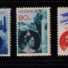 NETHERLANDS - 1931/3 Industry and Crafts + Aviation, NVPH 236/7 + LP9