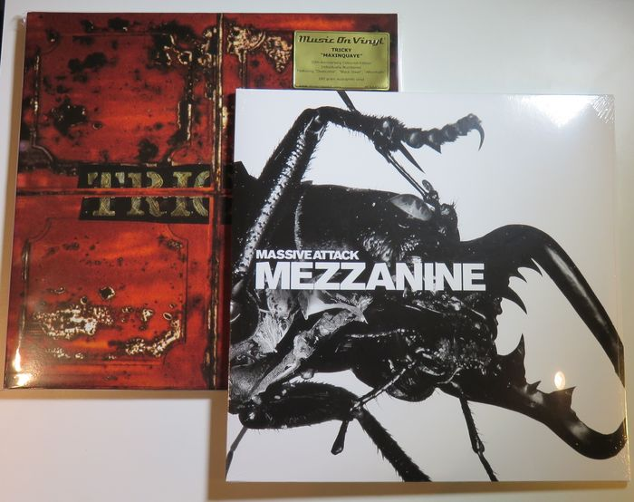 Massive Attack Tricky Great Lot Of 2 Triphop Classics