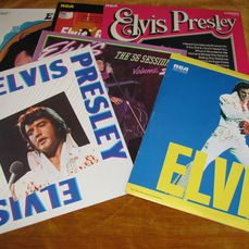 Lot Of 6 Elvis Presley Records