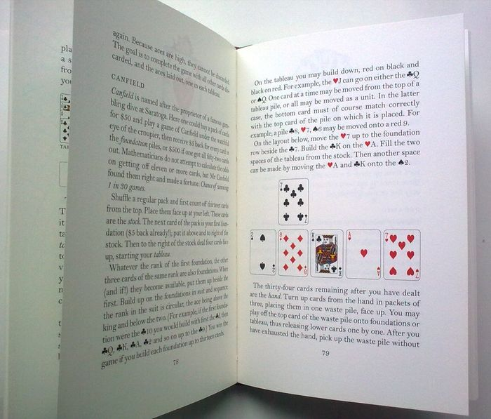 The Folio Book Of Card Games Book (Clare Mackie - 2009) (ID:14932)