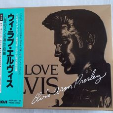 Elvis Presley. 3 cd box set I love Elvis brought in Japan.