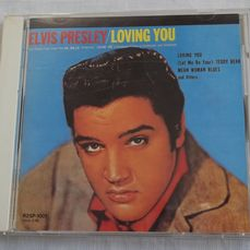 Elvis Presley . Lot of 4 cd´s all released in Japan : Loving you ; How great thou art ; Moody blue ; Aloha from Hawaii