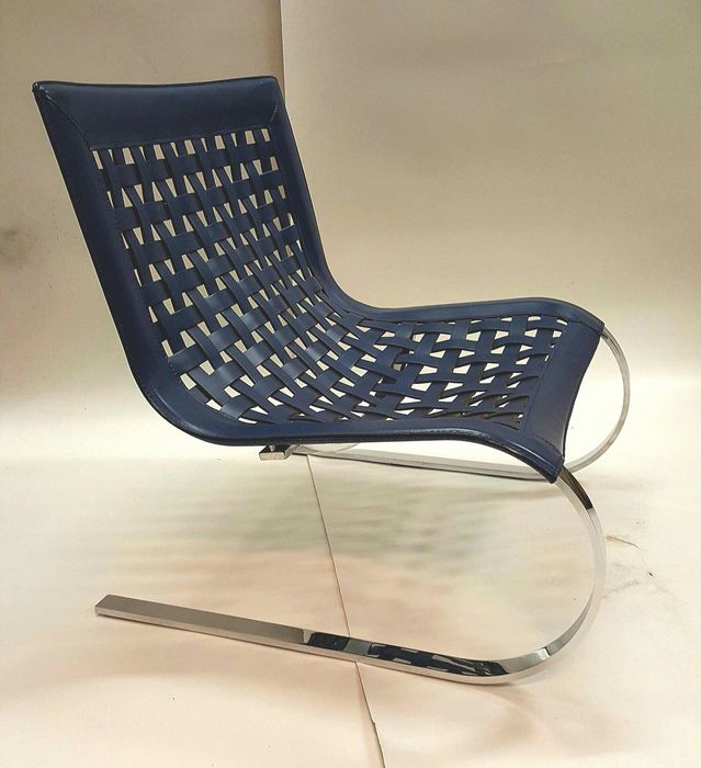 Giancarlo vegni voor fasem international lounge chair o mies - In december o grijze lounge ...
