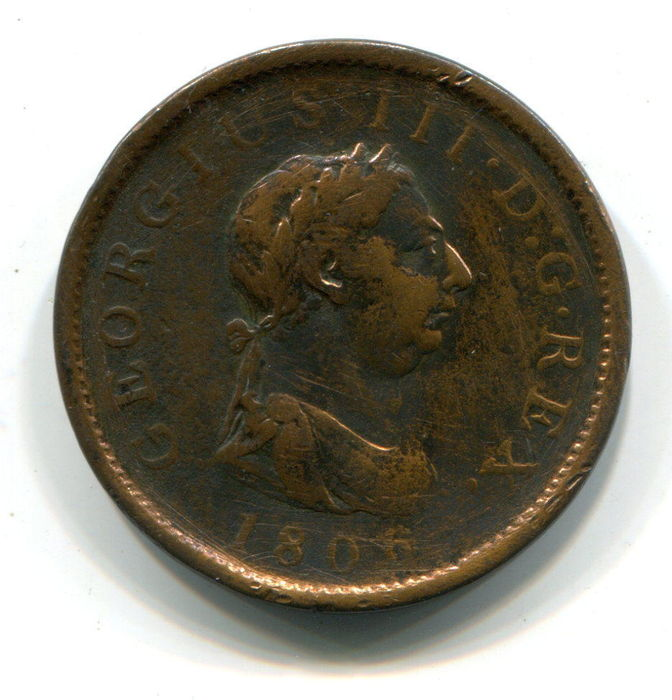 Great Britain Penny 1806 George Iii Copper Catawiki