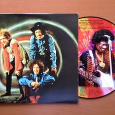 """Jimi Hendrix  10"""" Picture Disc """"All Along The Watchtower"""""""