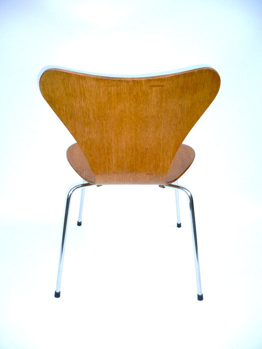 Arne jacobsen for fritz hansen vintage chair series 7 for Chaise arne jacobsen