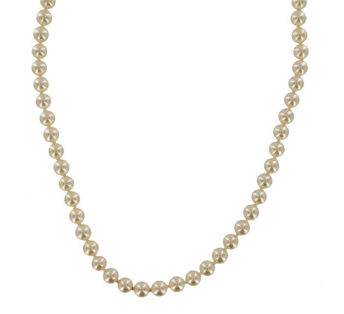 Mallorca Pearl Necklace: Necklace With Mallorca Pearls