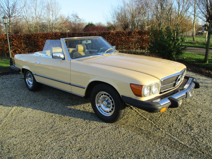 mercedes benz 450 sl cabrio 1980 catawiki. Black Bedroom Furniture Sets. Home Design Ideas