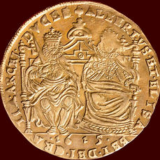 Flanders - Double Gold Sovereign 1615 Albrecht & Isabella gold