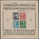 Check out our SPA 1945 - Thuringia - Michel Block 2 t (l) with expert's certificate