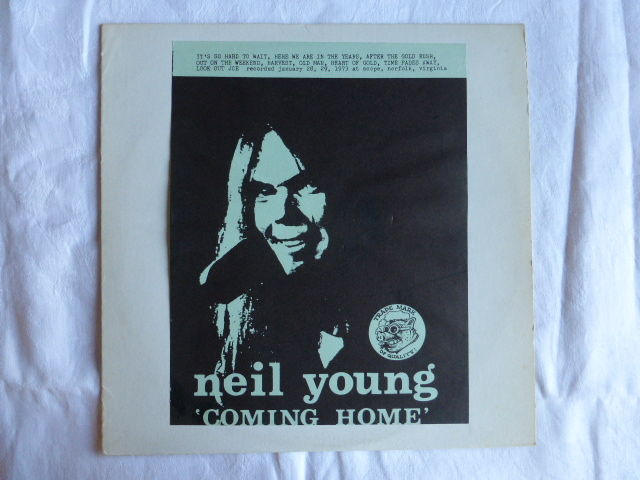 neil young lp coming home bootleg catawiki. Black Bedroom Furniture Sets. Home Design Ideas