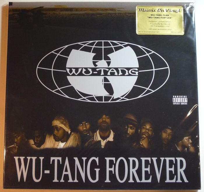 Wu Tang Clan Wu Tang Forever 4lp Limited Numbered