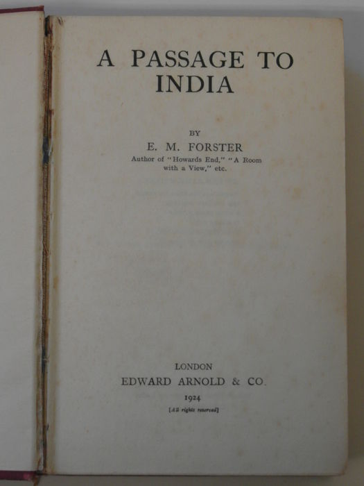 a passage to india by e m forster Exploring issues of colonialism, faith and the limits of comprehension, em forster's a passage to india is published as a penguin essential for.
