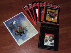 Storm - Die Welten van Don Lawrence + Don Lawrence The Collection 5 + Pandarve Das Don Lawrence Magazine 1 t/m 5 - 1e druk
