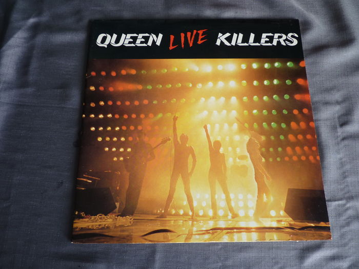 queen live killers 2 lp album on emi 4c 154 62792 3 dutch press with the green and red original i. Black Bedroom Furniture Sets. Home Design Ideas