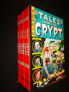 EC Comics - Tales from the Crypt - 5x hc in box - (1979)