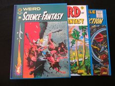 EC Comics Weird - Science-Fantasy - Incredible Science Fiction - 2x hc in box - (1982).