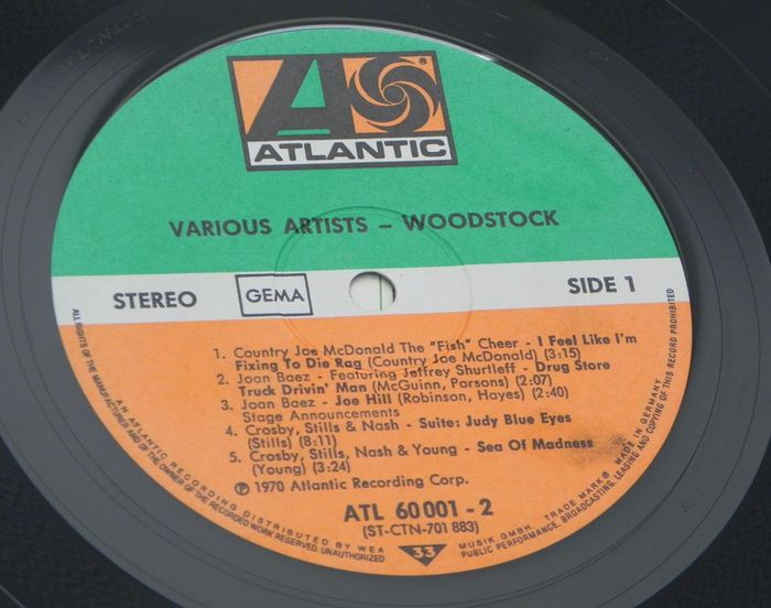 Various Woodstock Music From The Original Soundtrack And More
