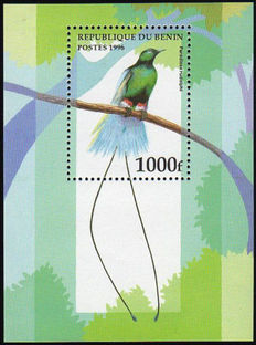 Birds - Collection of souvenir sheets, stamps, and Maximum cards