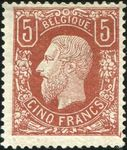Check out our Belgium 1878 - King Leopold II profile facing left - OBP 37