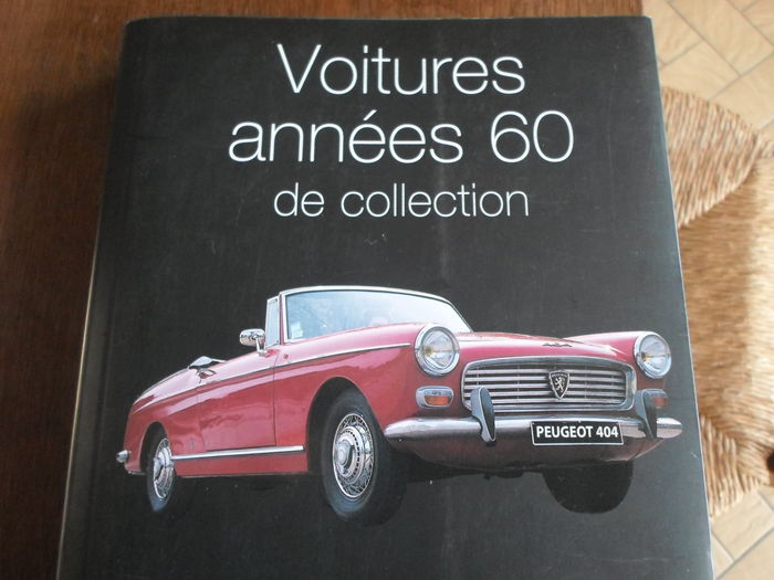 lot de 2 livres en fran ais auto nostalgie voitures des ann es 60 de collection catawiki. Black Bedroom Furniture Sets. Home Design Ideas