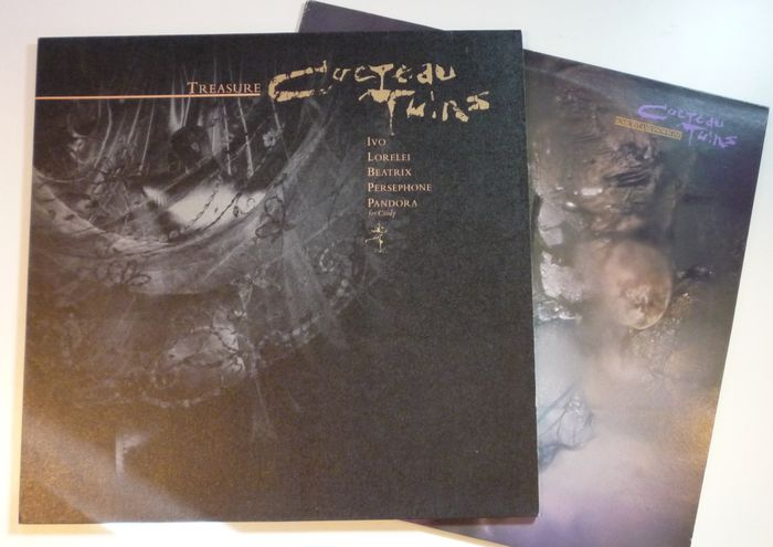 Cocteau Twins Lot Of 1xlp Amp 1x12inch On 4ad Treasure