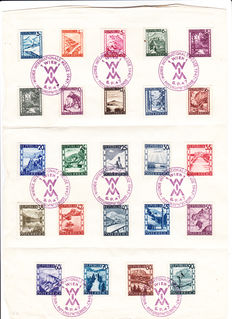 Austria, United Nations, New York, Geneva and Vienna - Batch of postal items from 1945 onwards