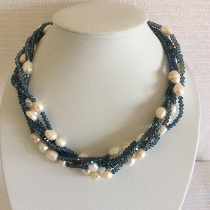 Four String Pearl Necklace